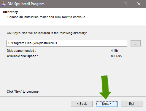 Install Spy Software - Step 2a