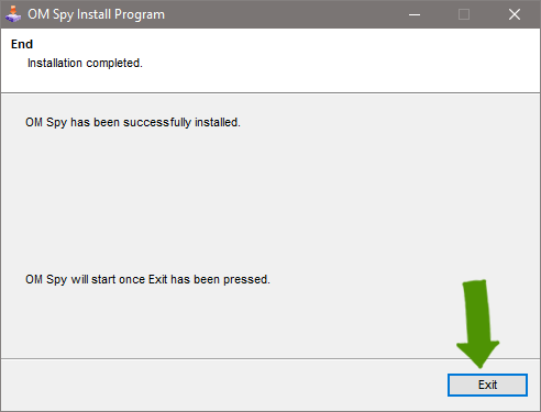 Install Spy Software - Step 4