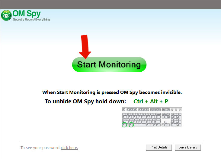 Windows Spy Software - Step 2