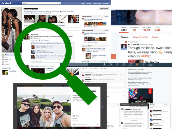 View Social Media Data